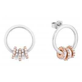 s.Oliver 2027609 Ladies' Stud Earrings Round Silver