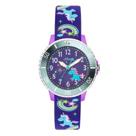s.Oliver SO-3434-PQ Kids Watch Unicorn