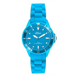 s.Oliver SO-2312-PQ Ladies Watch Light Blue