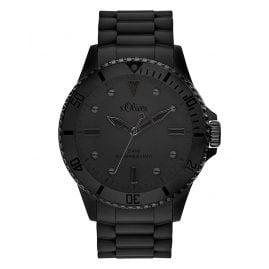 s.Oliver SO-3414-PQ Wrist Watch Black