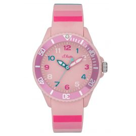 s.Oliver SO-4003-PQ Kids Watch Pink