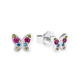 s.Oliver 2020868 Girls' Earrings Butterfly