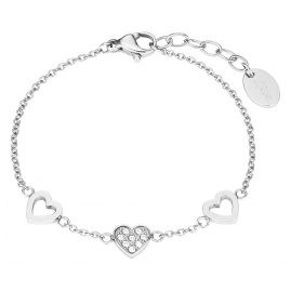 s.Oliver 2027452 Childrens Bracelet Heart Stainless Steel Girls