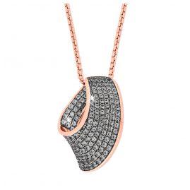 Joop 2023500 Silber Damen-Halskette Rosé