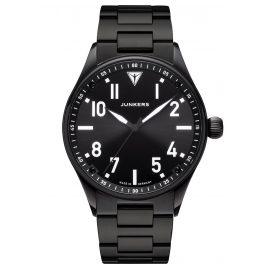 Junkers 9.03.01.02.M Men's Wristwatch with Metal Bracelet Flieger Black