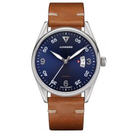 Junkers 9.04.01.01 Men's Automatic Watch Professor Brown / Blue