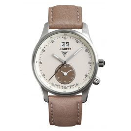 Junkers 6645-4 Iron Annie JU52 Dual Time Ladies Watch