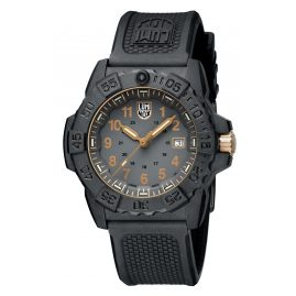 Luminox XS.3508.GOLD Herren-Taucheruhr Navy Seal Schwarz/Gold