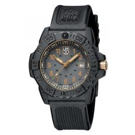 Luminox XS.3508.GOLD Men's Diving Watch Navy Seal Black/Gold