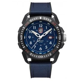 Luminox XL.1003.ICE Men's Watch Ice-SAR Arctic Rubber Strap WR 20 Bar Blue