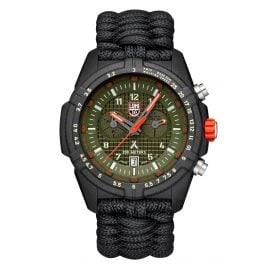 Luminox XB.3797.KM Herrenuhr Chronograph Paracord-Armband Bear Grylls Survival