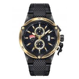 Ducati DTWGC2019102 Men's Wristwatch Chronograph Black/Gold Tone