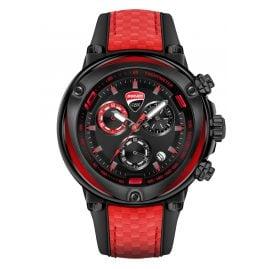 Ducati DTWGO2018805 Herrenuhr Chronograph Schwarz/Rot