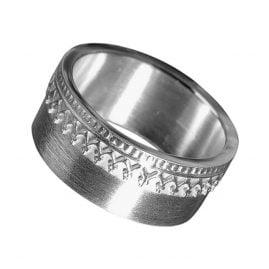 Allaxo 16800 Damen-Silberring