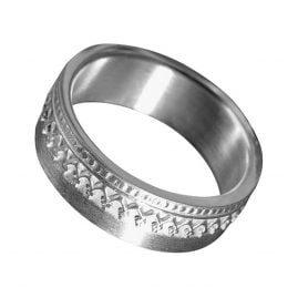 Allaxo 16799 Ladies Silver Ring