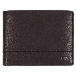 Tom Tailor 25302 Herren-Geldbörse Kai Leder Braun Querformat mit RFID Schutz