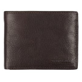 Tom Tailor 27311 29 Wallet Barry Brown Leather with RFID Protection