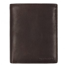 Tom Tailor 27313 Geldbörse Leder Braun Hochformat mit RFID Schutz Barry