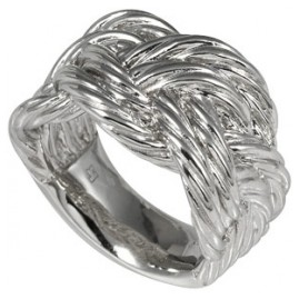merii M0554R Ladies Silver Ring