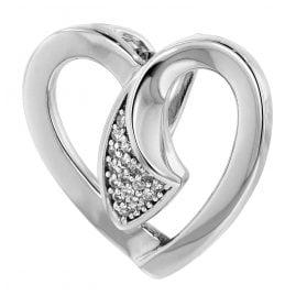 trendor 80234 Silber Anhänger Herz