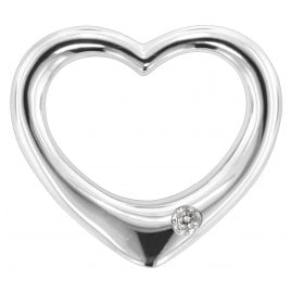 trendor 80272 Silber Durchziehherz