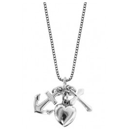 trendor 63911 Silver Necklace Spirit, Love, Hope