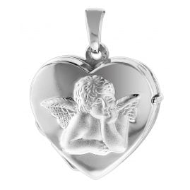 trendor 83679 Silver Heart Locket