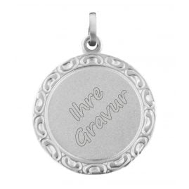 trendor 87189 Silver Engraving Plate