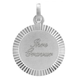 trendor 87196 Silver Engraving Plate