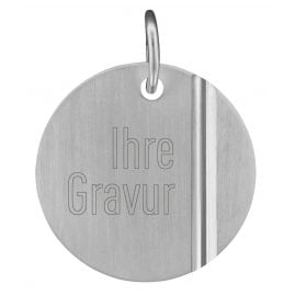 trendor 87226 Silver Engraving Plate