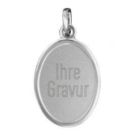 trendor 87257 Silver Engraving Plate