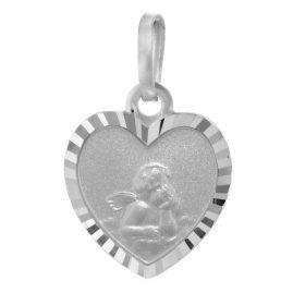 trendor 73105 Anhänger für Kinder Amor 925 Silber 17 mm