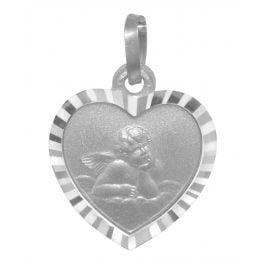 trendor 73112 Anhänger für Kinder Schutzengel 925 Silber 21 mm