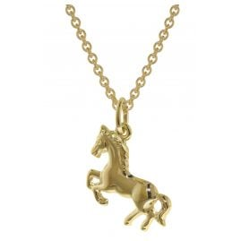 trendor 35808 Gold Pendant Horse for Girls