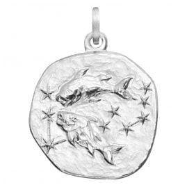 trendor 08455 Zodiac Pisces Silver 20 mm