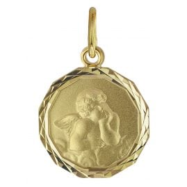 trendor 08619 Guardian Angel Pendant Gold 585