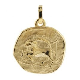 trendor 08725 Zodiac Pendant Capricorn Gold 333/8 ct