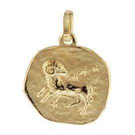 trendor 08728 Sternzeichen-Anhänger Widder 333 Gold 16 mm