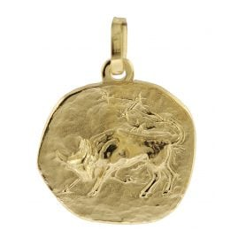 trendor 08729 Zodiac Pendant Taurus Gold 333/8 ct