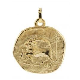 trendor 08982 Zodiac Pendant Capricorn Gold 333/8 ct