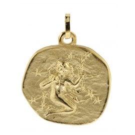 trendor 08990 Zodiac Pendant Virgo Gold 333/8 ct