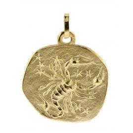 trendor 08992 Sternzeichen-Anhänger Skorpion 333 Gold 20 mm