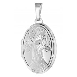 trendor 39585 Medaillon Lebensbaum 925 Silber