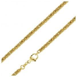 trendor 88520 Königskette 14 Karat Gold 585 Breite 3 mm Länge 45 cm