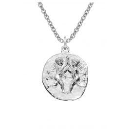 trendor 08446 Sternzeichen Zwilling mit Halskette Silber 925