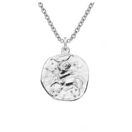 trendor 08452 Silver Zodiac Sagittarius with Necklace