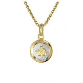 trendor 08560 Angel Pendant Children's Necklace Gold 333/8K