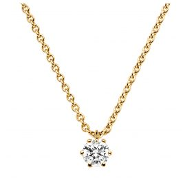 trendor 532655 Diamond Necklace 0.20 ct. Gold 585