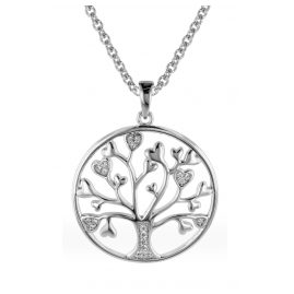 trendor 08817 Pendant Tree of Life with Necklace Silver 925