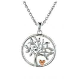 trendor 08819 Tree of Life Jewellery Set Silver 925